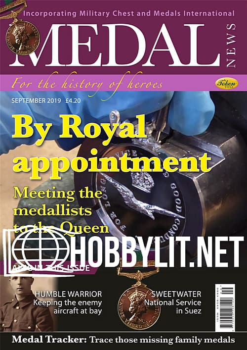 Medal News - September 2019