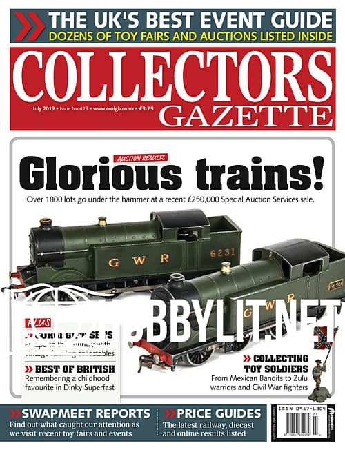 Collectors Gazette July 2019