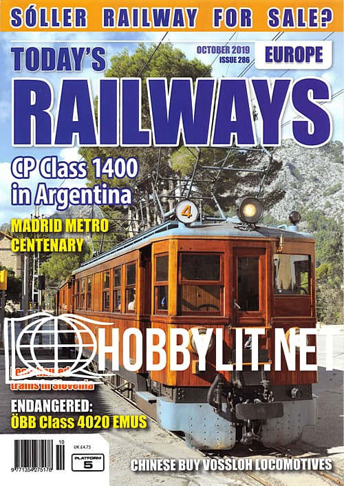 Today's Railways Europe - October 2019