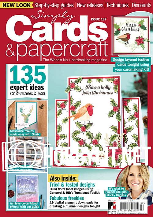 Simply Cards & Papercraft Issue 197