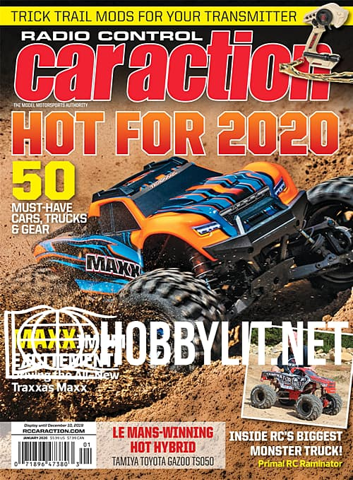 Radio Control Car Action – January 2020