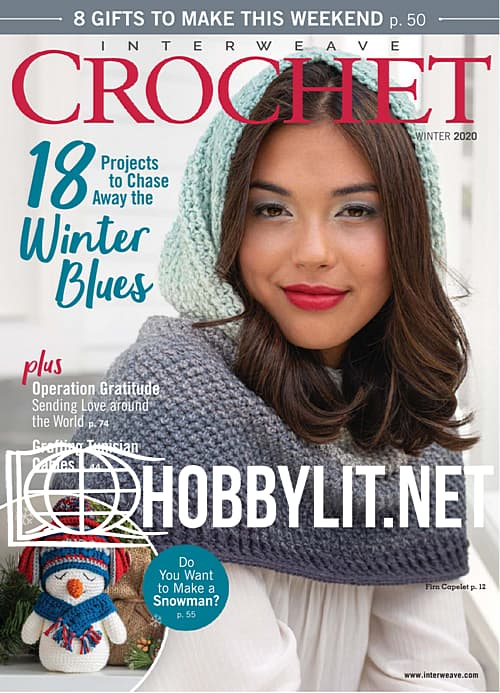 Interweave Crochet - Winter 2019
