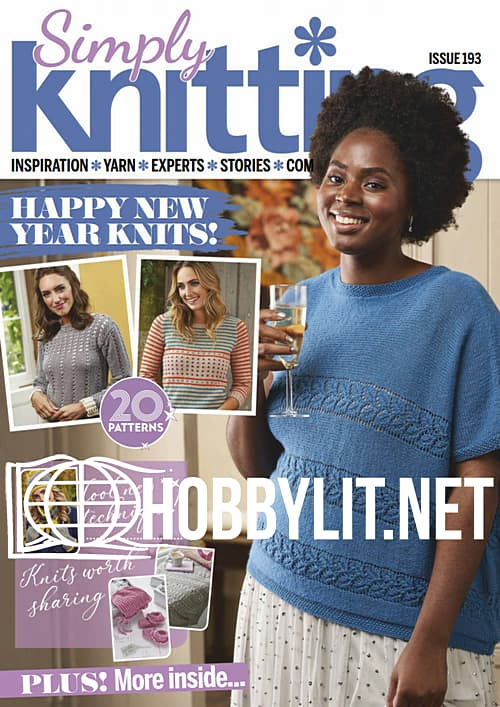 Simply Knitting Issue 193