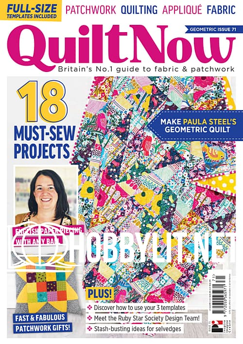 Quilt Now Issue 71