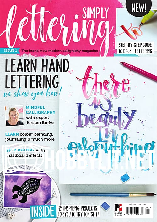 Simply Lettering Issue 1
