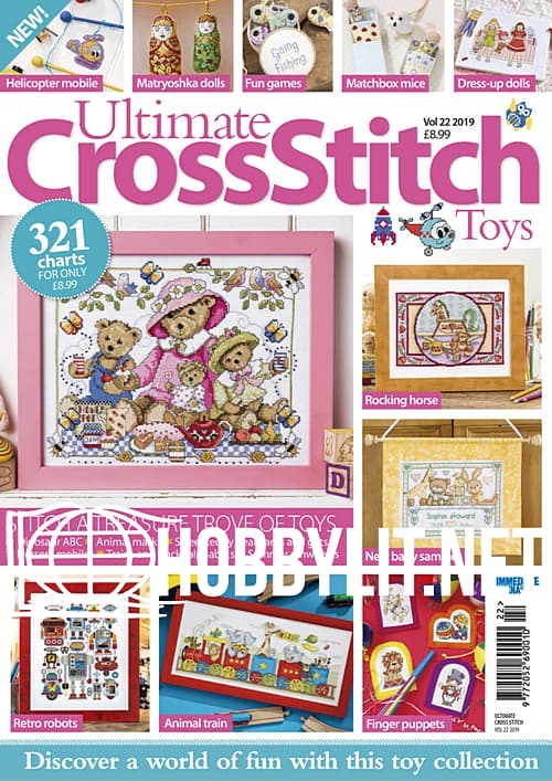 Ultimate Cross Stitch Volume 22 - Toys