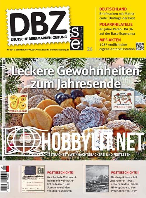 Deutsche Briefmarken-Zeitung – 06 Dezember 2019