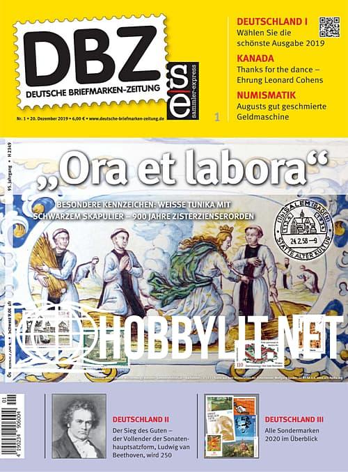 Deutsche Briefmarken-Zeitung - 20 Dezember 2019