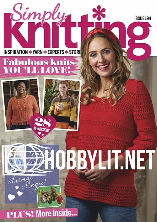 Simply Knitting Issue 194