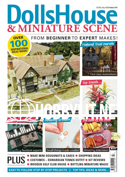 Dolls House & Miniature Scene Issue 314 - July 2020