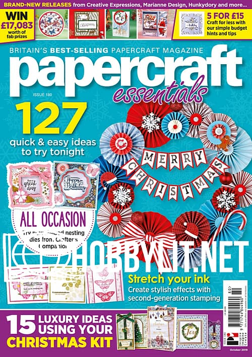 Papercraft Essentials Issue 182