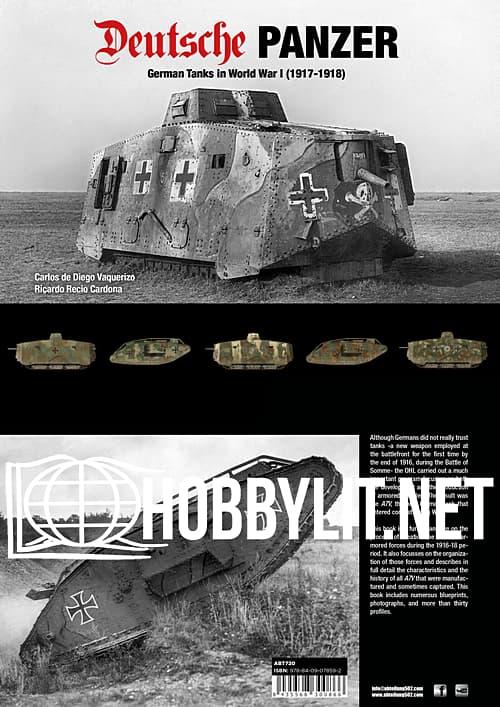 Deutsche Panzer: German Tanks in World War I (1917-1918)
