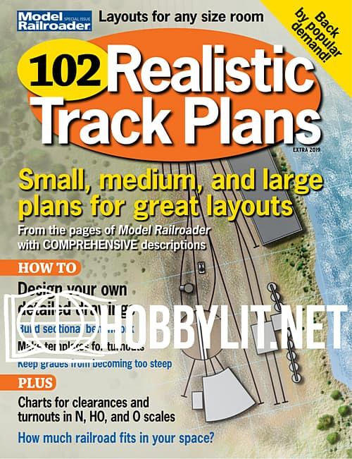 Model Railroad Special issue: 102 Realistic Track Plans