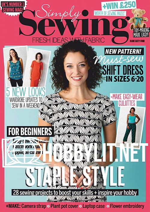 Simply Sewing Issue 64