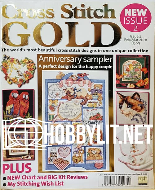 Cross Stitch Gold Issue 2 - February-March 2001