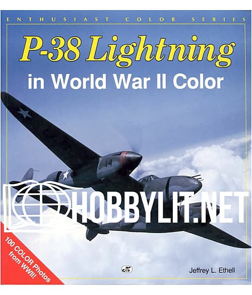 P-38 Lightning in World War II Color