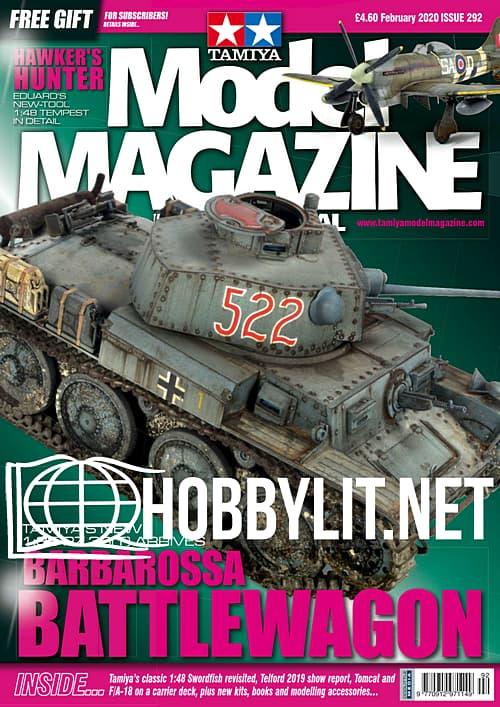 Tamiya Model Magazine International - February 2020