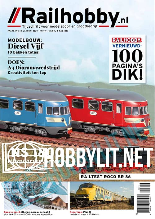 Railhobby - Januari 2020