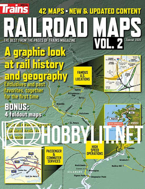 Trains Special - Railroad Maps Vol.2