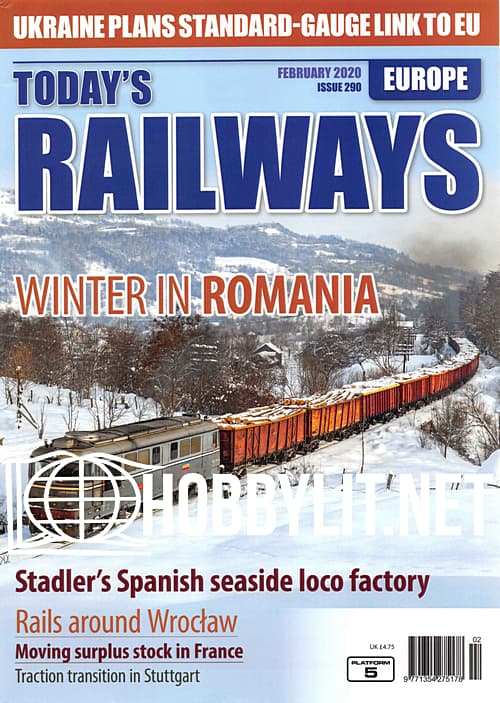 Today's Railways Europe - February 2020