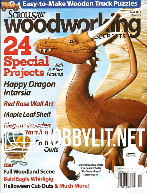 ScrollSaw Woodworking & Crafts - Fall 2019