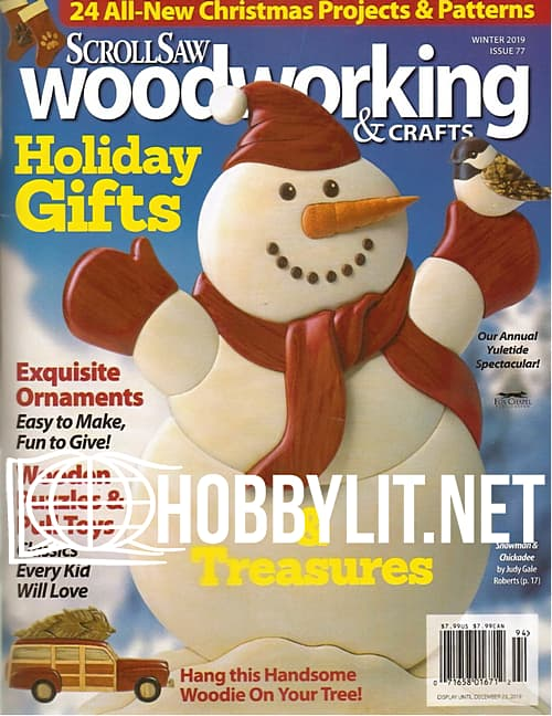 ScrollSaw Woodworking & Crafts - Winter 2019
