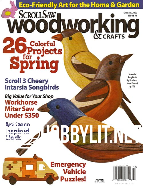 ScrollSaw Woodworking & Crafts - Spring 2020