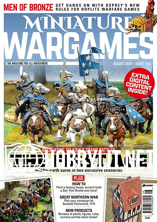Miniature Wargames - August 2019