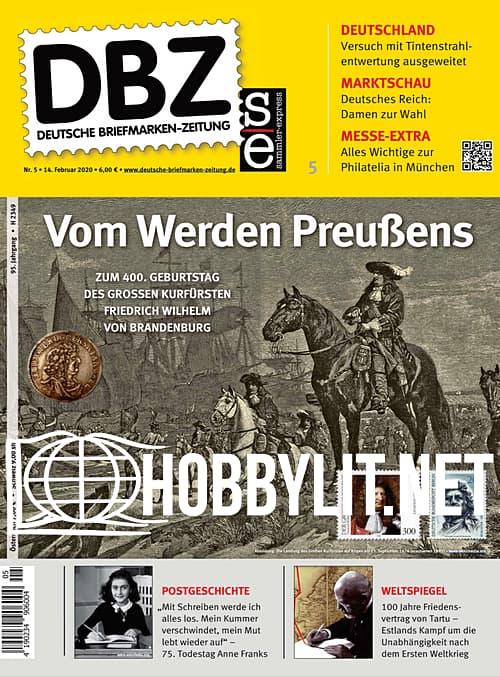 Deutsche Briefmarken-Zeitung - 14 Februar 2020