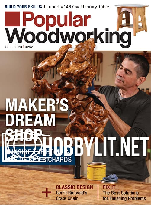 Popular Woodworking - April 2020