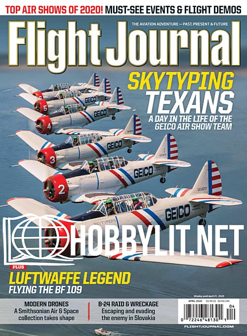 Flight Journal - April 2020