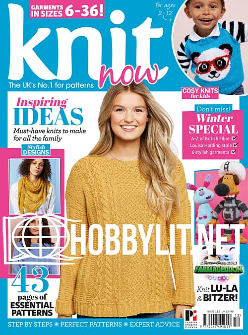 Knit Now Issue 112