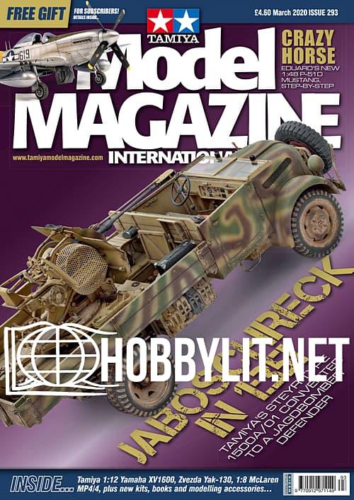 Tamiya Model Magazine International - March 2020