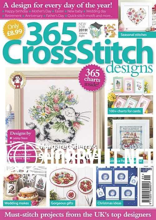 365 Cross Stitch Designs Issue 8