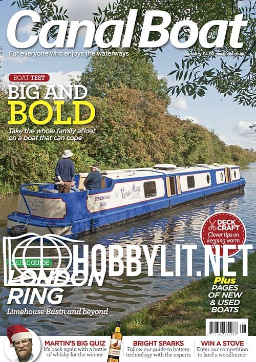 Canal Boat - January 2020