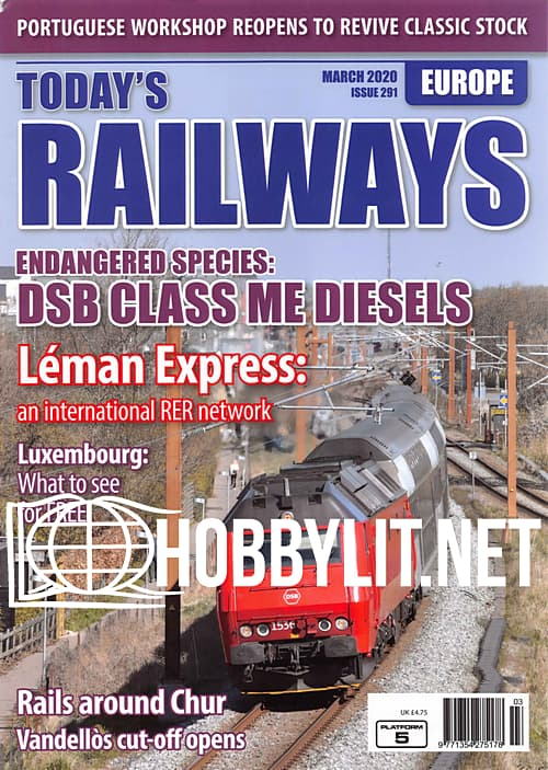 Today's Railways Europe - March 2020