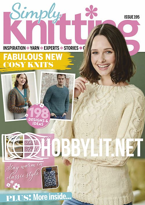 Simply Knitting Issue 195