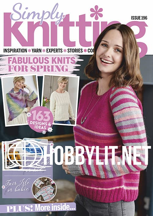 Simply Knitting Issue 196
