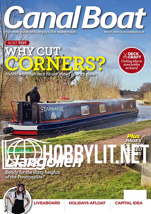 Canal Boat - March 2020