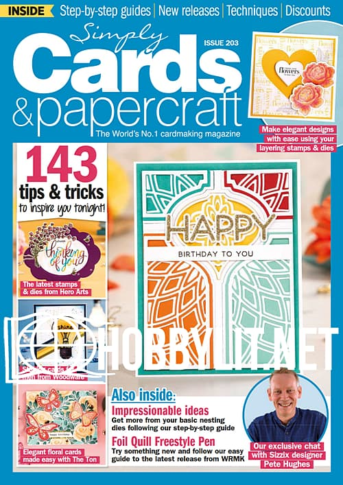 Simply Cards & Papercraft Issue 203