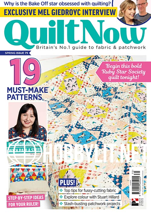 Quilt Now Issue 75