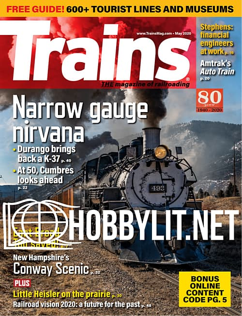 Trains - May 2020