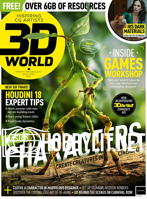 3D World - March 2020