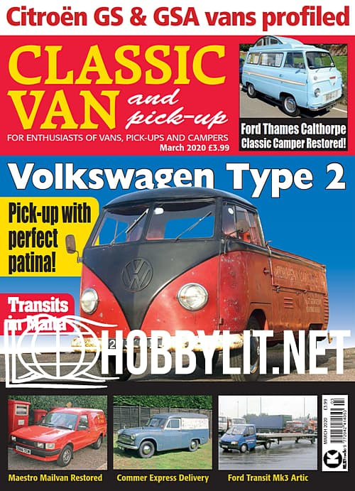 Classic Van and Pick-Up - March 2020