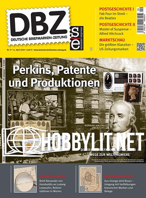 Deutsche Briefmarken-Zeitung - 11 April 2020