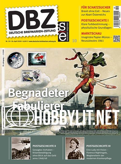 Deutsche Briefmarken-Zeitung - 24 April 2020