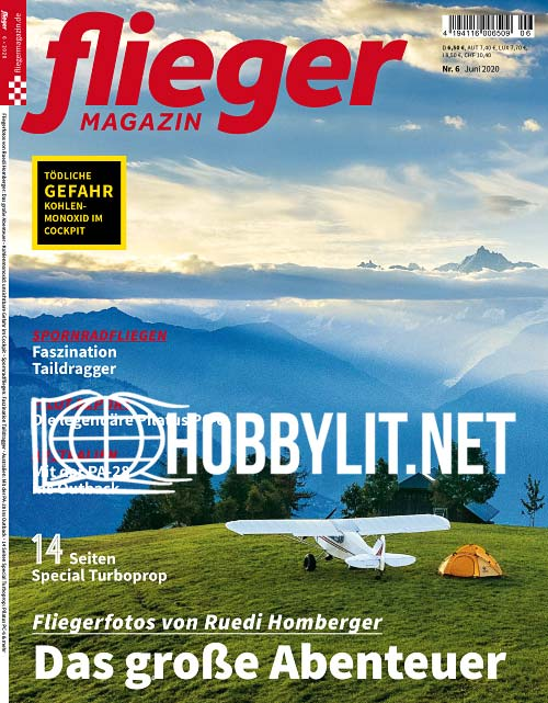 Fliegermagazin - Juni 2020