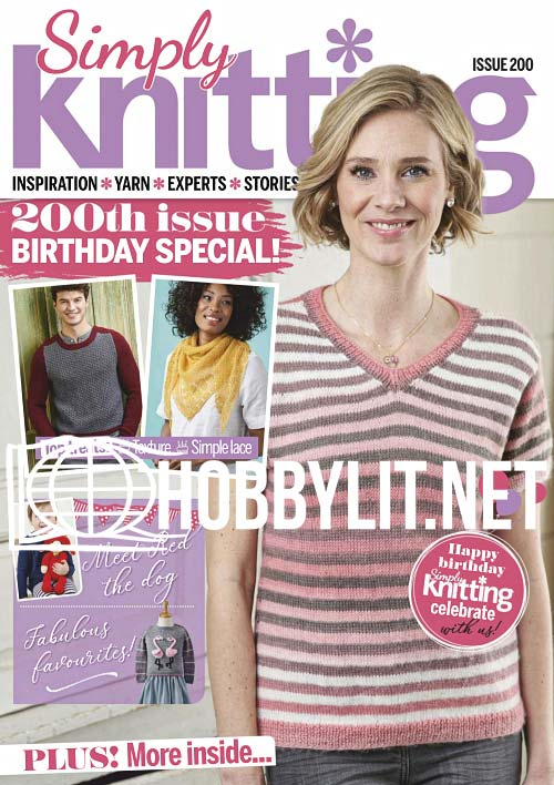 Simply Knitting Issue 200
