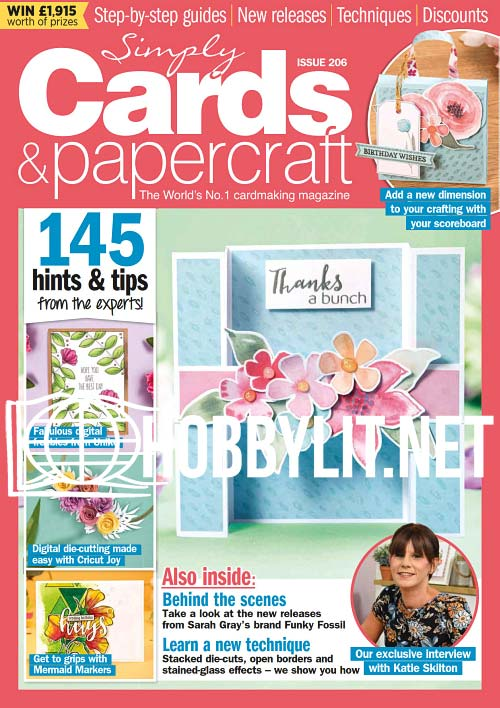 Simply Cards & Papercraft Issue 206