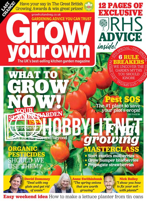 Grow Your Own - August 2020